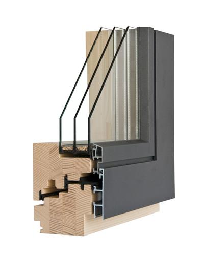 Fenster Innen Holz Ausen Alu ~ Das Holz Alu Verbundfenster VARION 4 im innovativen Design mit