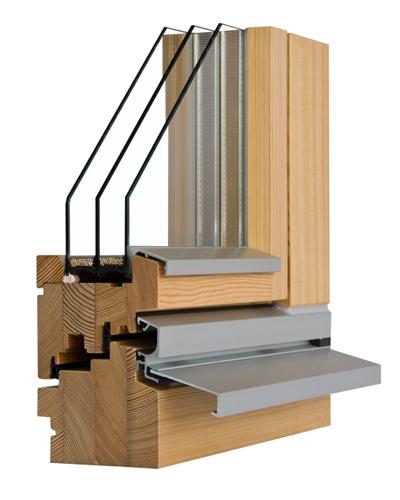 Fenster Wetterschenkel Holz ~ Modernes Holz Alu Fenster